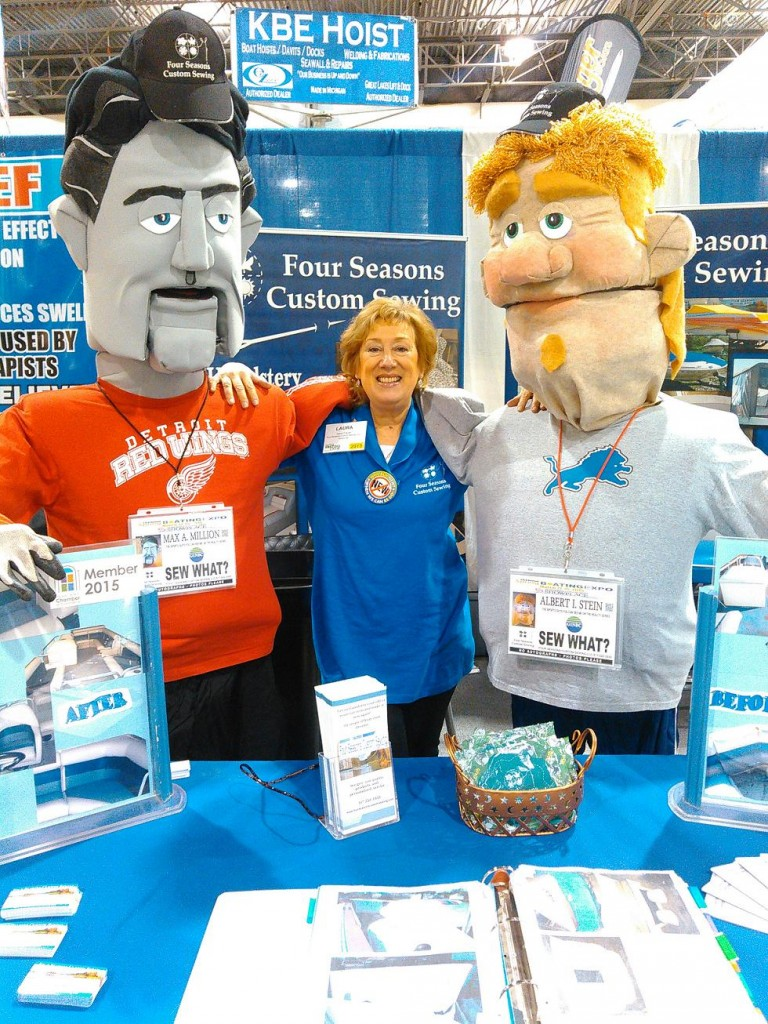 Four Seasons Custom Sewing at the Livingston County MI Home Show